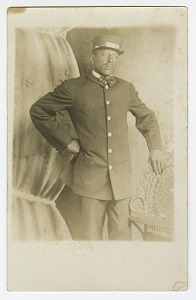 images for Photographic postcard of Pullman Porter, T.R. Joseph-thumbnail 1