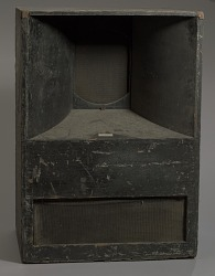 Speaker used as part of a DJ setup