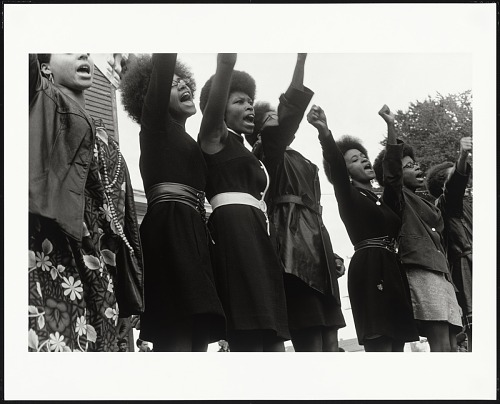 Image for Black Panthers from Sacramento, Free Huey Rally, Bobby Hutton Memorial Park, Oakland, CA, No. 62