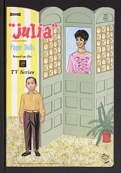 Book of paper dolls from the television show Julia