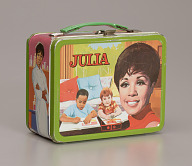 Lunchbox and thermos featuring Diahann Carroll from the sitcom Julia