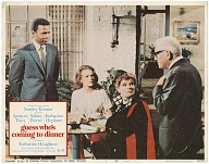 Lobby card for the film Guess Who's Coming To Dinner