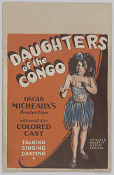 Window card for A Daughter of the Congo