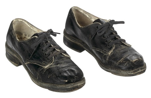 Image for Tap shoes used by Sammy Davis Jr.