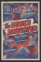 Poster for The Devil's Daughter