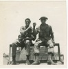 Thumbnail for Photograph of two American soldiers sitting on a jeep in Vietnam