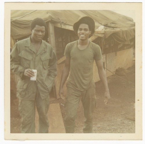 Image for Photograph of two American soldiers in Vietnam