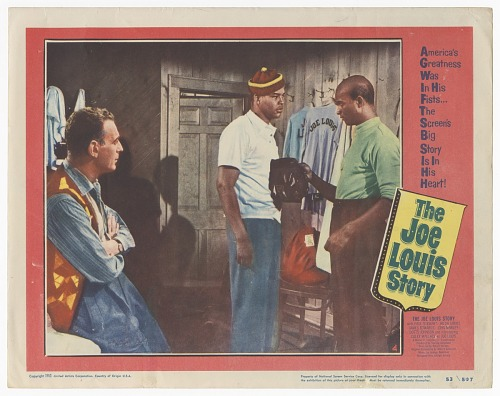 Image for Lobby card for The Joe Louis Story