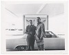 Thumbnail for Photographic print of Joe Louis shaking hands with unidentified man