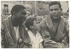 Thumbnail for Photographic print of Joe Louis with an unidentified man and boy