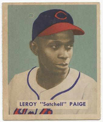 Baseball card for rookie Leroy