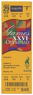 Image for Pair of tickets for 1996 Summer Olympics gymnastics event owned by Carl Lewis
