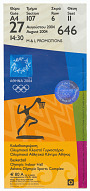 Image for Ticket for 2004 Summer Olympics basketball event owned by Carl Lewis