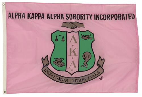 Image for Flag for Alpha Kappa Alpha