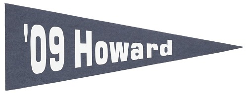 Image for Pennant for Howard University class of 2009