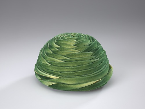 Image for Green wrap hat made by Vanilla Beane