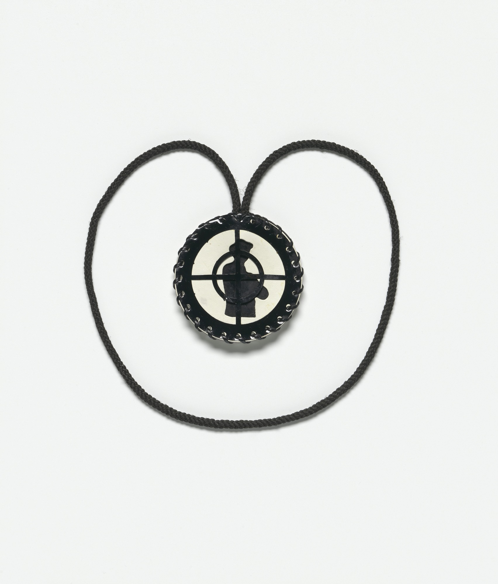 images for Public Enemy crosshairs logo necklace owned by Chuck D