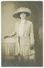 Thumbnail for Photographic postcard of Dovie Wright Jordan