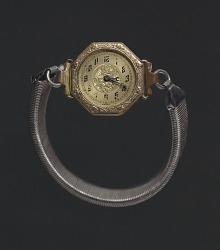 Wrist watch worn by Harriette Moore