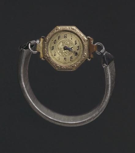 Image for Wrist watch worn by Harriette Moore