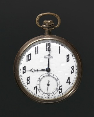 Pocket watch owned by Harry T. Moore
