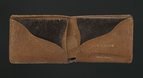 Image for Wallet belonging to Harry T. Moore