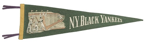 Image for Pennant for the New York Black Yankees