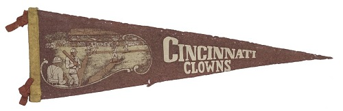 Image for Pennant for the Cincinnati Clowns