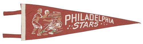Image for Pennant for the Philadelphia Stars