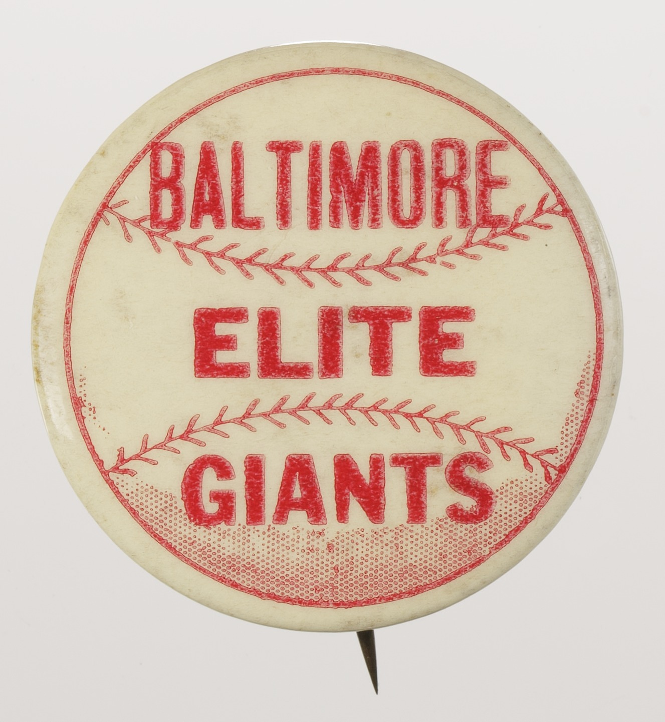 Image for Pinback button for the Baltimore Elite Giants