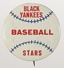 Thumbnail for Pinback button for the New York Black Yankees