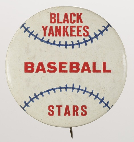Image for Pinback button for the New York Black Yankees