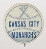 Thumbnail for Pinback button for the Kansas City Monarchs