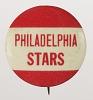 Thumbnail for Pinback button for the Philadelphia Stars
