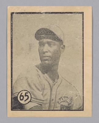 Baseball Card of Martin Dihigo