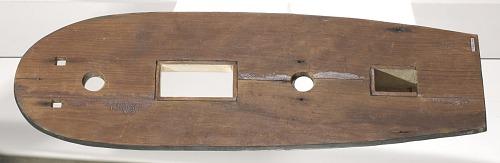 Image for Folk art model of a slave ship on stand