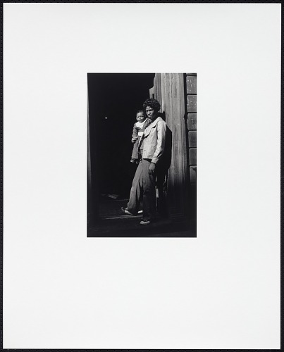 Image for A Woman and Child in a Doorway