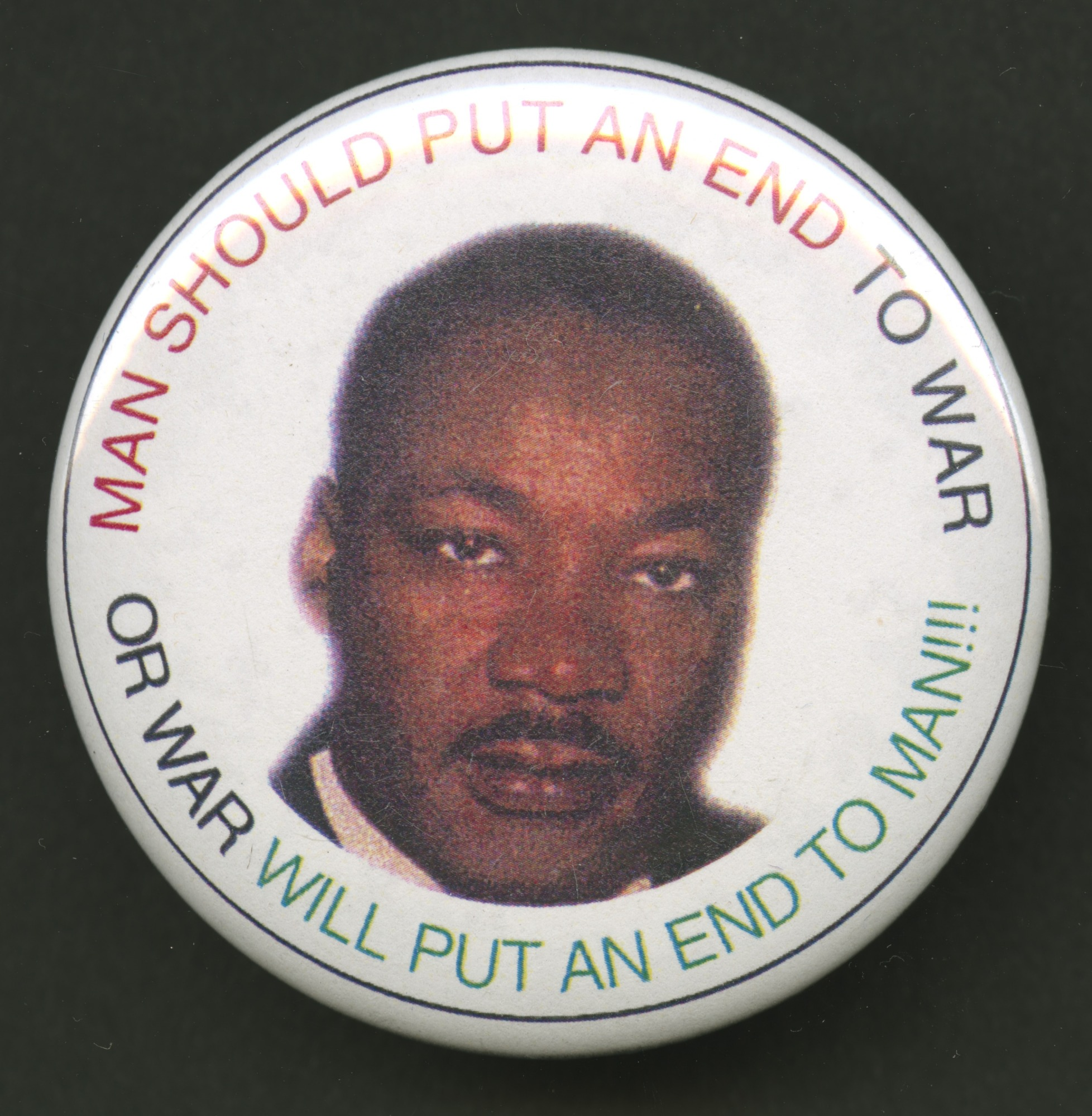 images for Pinback button featuring Martin Luther King Jr.