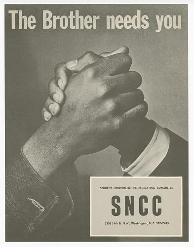 Image for Flyer promoting Student Nonviolent Coordinating Committee(SNCC)