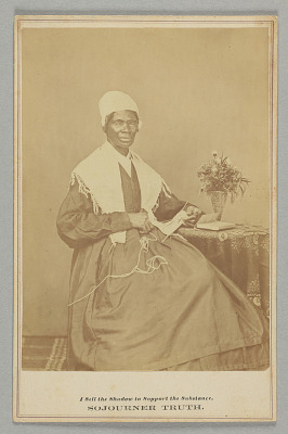 Cabinet card of Sojourner Truth