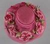 images for Pink mushroom hat with flowers from Mae's Millinery Shop-thumbnail 7