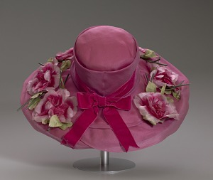 images for Pink mushroom hat with flowers from Mae's Millinery Shop-thumbnail 10