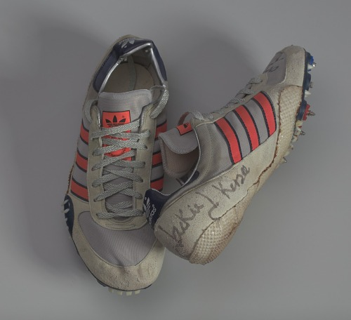 Image for Track shoes worn by Jackie Joyner-Kersee at the 1984 Olympic trials