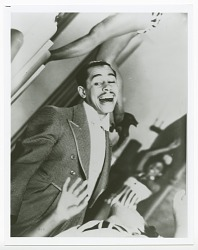 Print of Cab Calloway and dancers performing