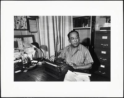 <I>Portrait of Langston Hughes</I>