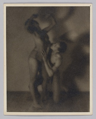 Photograph of a man and a woman