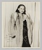 Thumbnail for Photograph of a woman, Birtie, in a fur coat