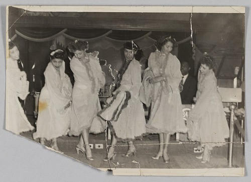 Image for Photograph of six female dancers performing at Club 845