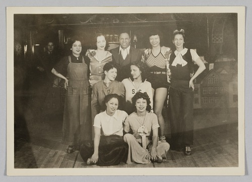 Image for Photograph of Leroy Broomfield and the Ubangi Club dancers
