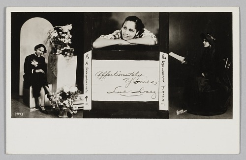 Image for Photographic postcards of Lue Swarz
